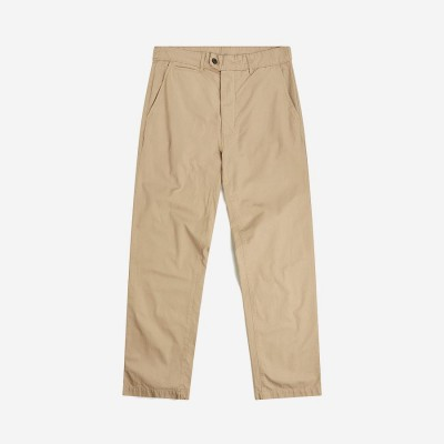 Albam Relaxed Taper Chino - Ripstop Sand M1QNU09Q