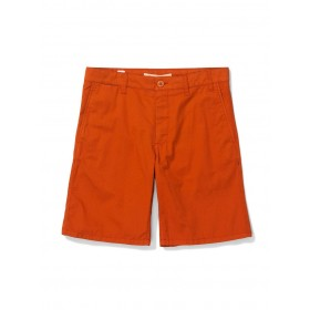 Men Norse Projects Aros Light Twill Shorts - Burnt Havthorn 12 inch Inseam high end V1AYW2FR