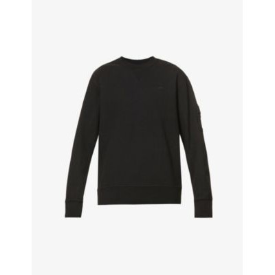 A-COLD-WALL Essential brand-embroidered stretch-cotton sweatshirt Heavy K85KWLBM