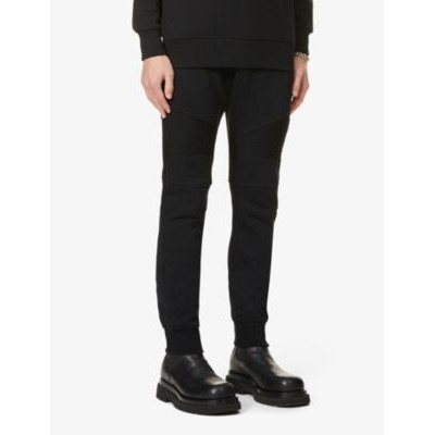 BALMAIN Men's Relaxed-fit cotton-jersey jogging bottoms The Top Selling JC4XEP8U