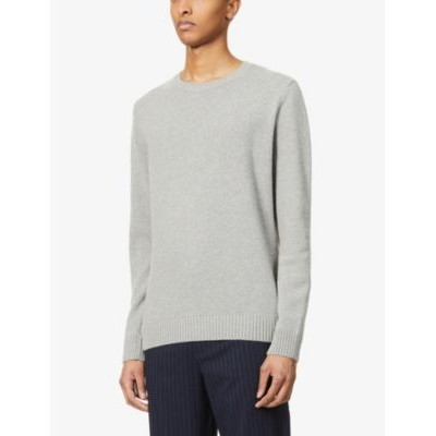 COLORFUL STANDARD Man Crewneck relaxed-fit wool jumper For Sale ZCFAVMPP