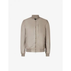 ALLSAINTS Kiro relaxed-fit leather bomber jacket LAT3O5LR