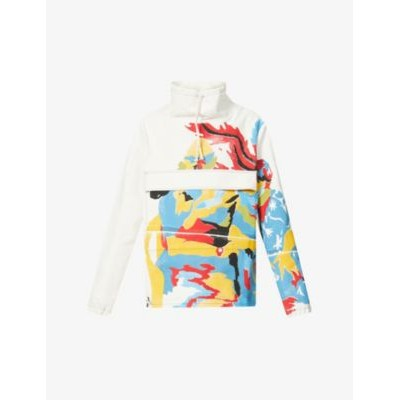 BETHANY WILLIAMS Men Graphic-print upcycled-cotton blend jacket the best EMQRWTTM