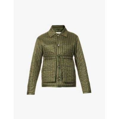 CRAIG GREEN Quilted belted shell worker jacket Coolest W5OUJSE2