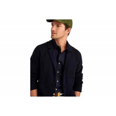 Alex Mill Cotton Cashmere Cardigan - Navy in store WL40R3YJ