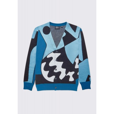 BY PARRA Too Loud Knitted Cardigan - Multi DFYR51MM