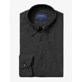 ETON Collared relaxed-fit linen shirt Ships Free IM83S84W