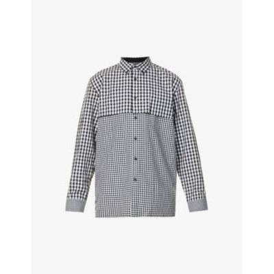 ADER ERROR Checked relaxed-fit cotton shirt 3XL shopping X5GBABIV