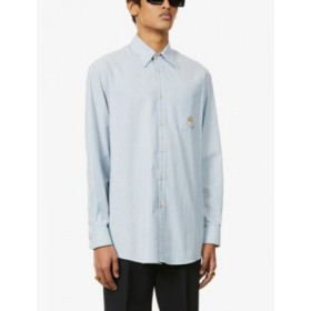 GUCCI Striped relaxed-fit cotton shirt Factory AJ2RDRLR