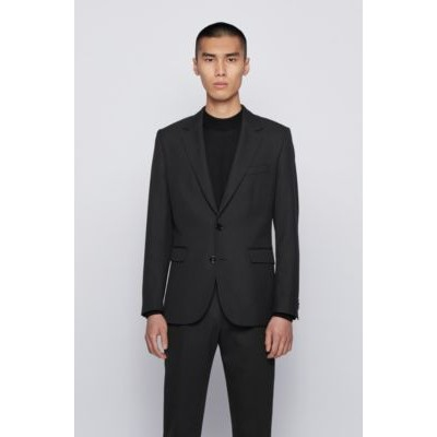 Man Single-breasted jacket with star motif and feature lining Black for sale near me 50446893