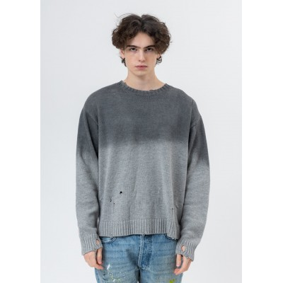 LXVI Rib Cage Sweater - Grey Dyed expres 3UIAH4DX