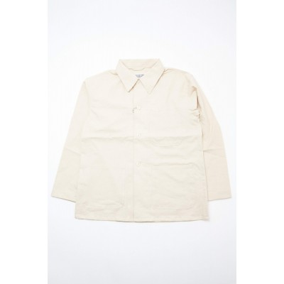 Engineered Garments Workaday Cotton Linen Utility Jacket - Natural Lab Hot Products GEWRHQNF